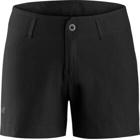 """Arc'teryx Creston Pantaloni corti Donna 4.5"""" nero"""